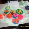 Работы детей в Детском садике-уголке Знайка-Познайка